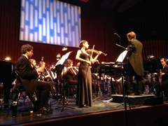 Metropolis Concerto for Violin and Wind Ensemble: Alisa Rose with the Dartmouth College Wind Ensemble, February 20, 2016